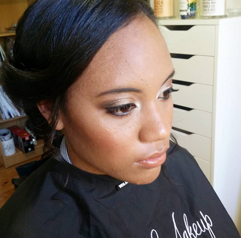 Hair And Makeup For A Ball Last Week