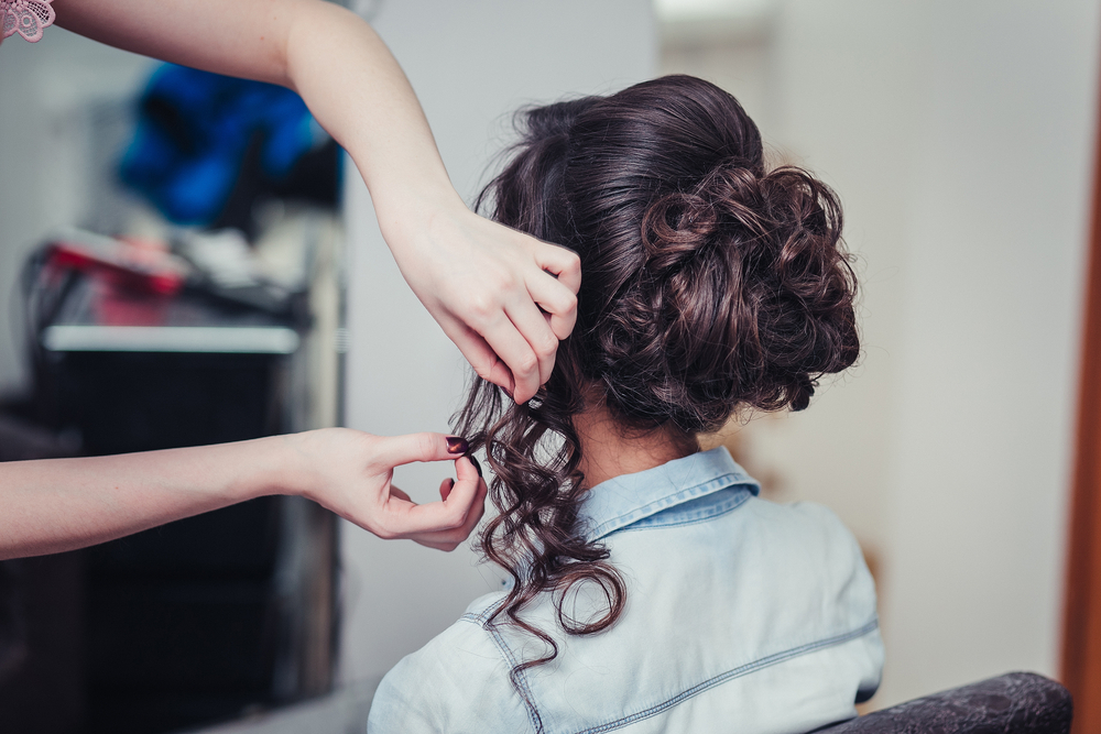 When was the last time you had your hair styled at home?