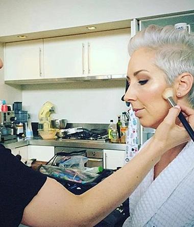 Makeup for Jaquie Brown
